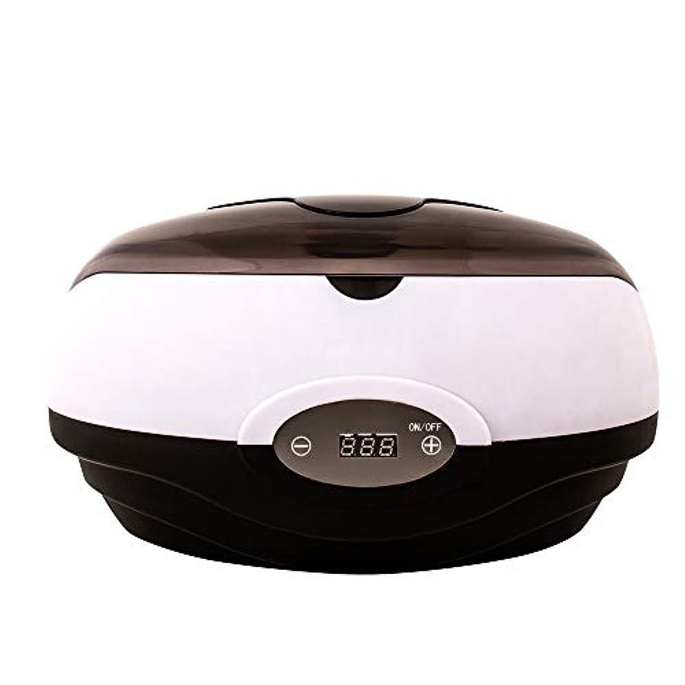 敬から聞く広げるワックスヒーター電子温度制御パラフィンスキンケア手ワックスマシンバスタブワックス鍋ワックス美容院機器用ホームとサロン