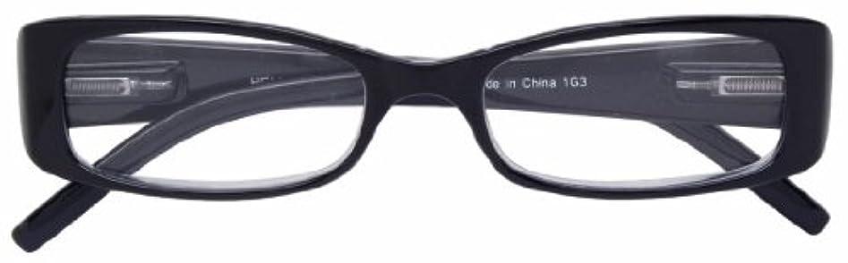 サミット疫病集中エニックス 老眼鏡 +1.0 度数 HELLIGE ブラック HE-1108-2+1.0