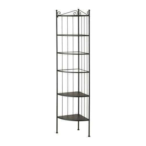 RoomClip商品情報 - IKEA(イケア) RoNNSKAR コーナー シェルフ ユニット ブラック