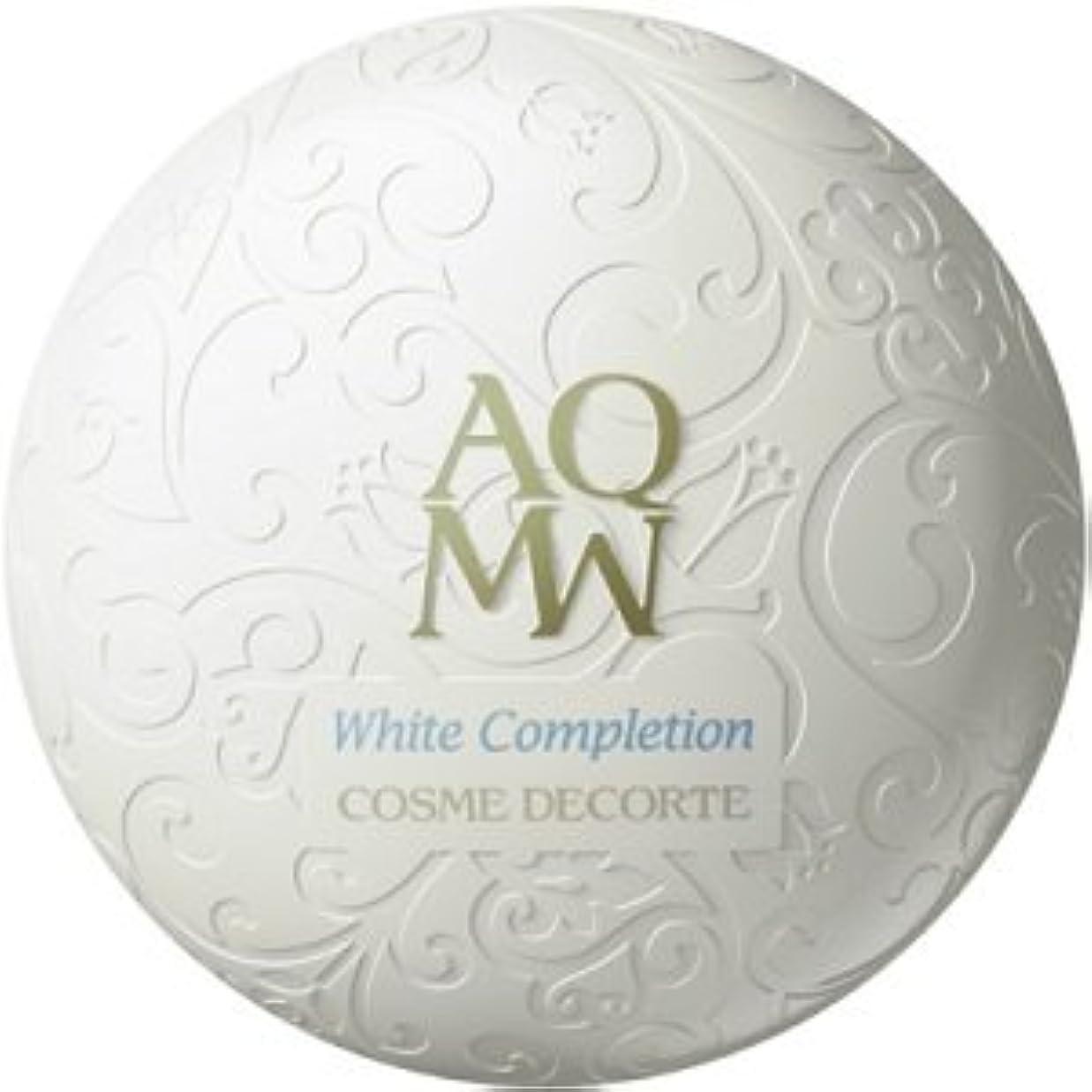 注意教育学多数のコスメデコルテ AQMW ホワイトコンプリーション 25g