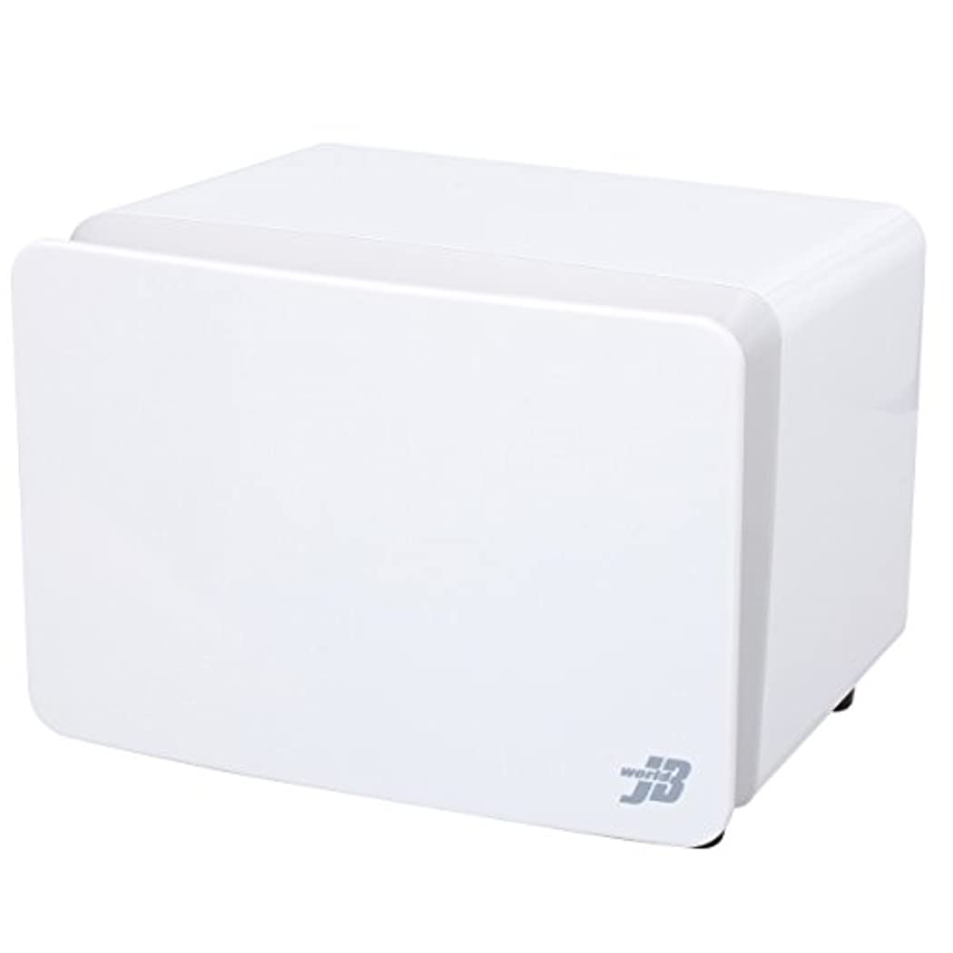 迷路シビックパーセントタオルウォーマー KRS-WM8 (前開き) ホワイト 8L 高さ25×幅33×奥行27cm [ タオル蒸し器 おしぼり蒸し器 タオルスチーマー ホットボックス タオル おしぼり ウォーマー スチーマー 小型 業務用 保温器 ]
