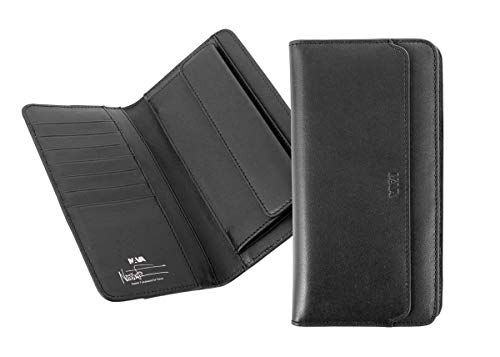 [ナヴァ・デザイン] Milano Vertical Long Wallet MI400 BLK black