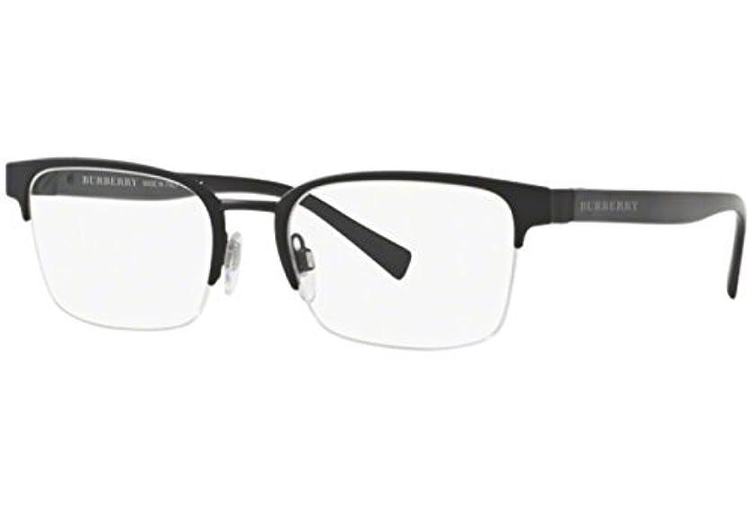 BURBERRY メンズ BE1308眼鏡54ミリメートル 54/19/145 ブラックラバー