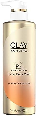 Olay Bodyscience Cleansing & Nourishing Crème Body Wash 500 Ml, 500.0 millili
