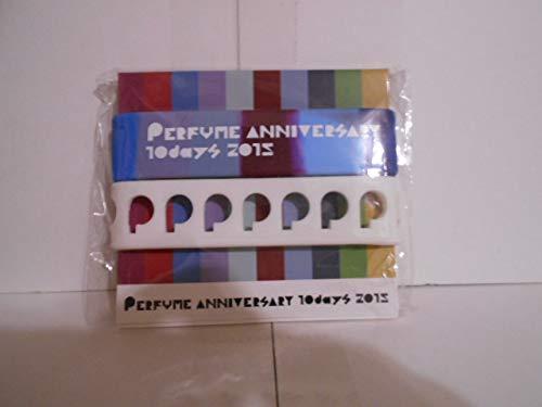 ツアーグッズ perfume パフューム ANIVERSARY 10days 2015 シリコンバンド