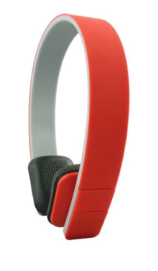 受賞デザート機械Emartbuy®SleekWave Bluetooth高精細ステレオワイヤレスヘッドフォン(赤)内蔵マイクおよびリモート用Tesco Hudl2 8.3インチWi-Fiタブレット