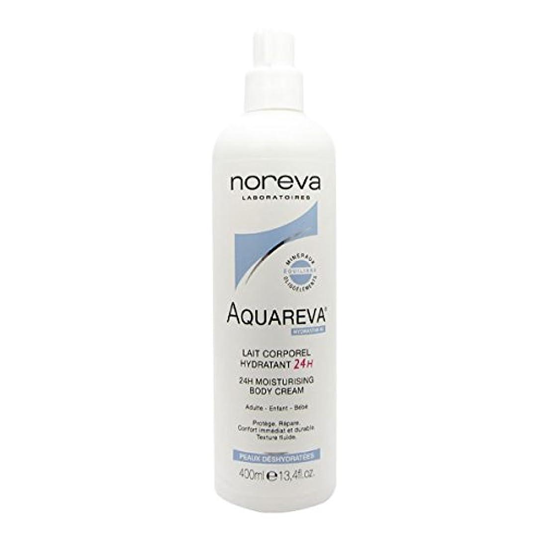 スケート革命的イライラするNoreva Aquareva Hydrating Body Milk 400ml [並行輸入品]