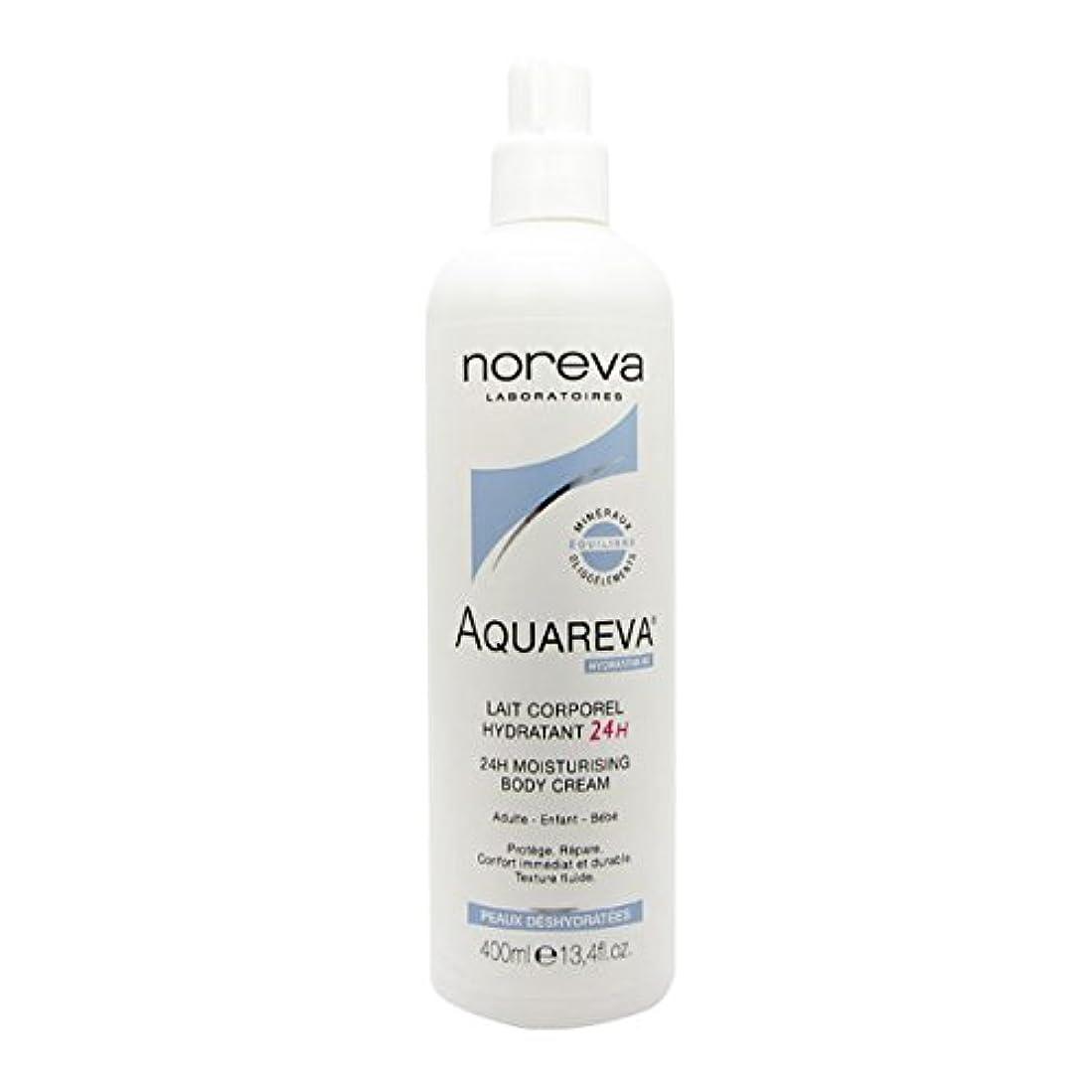 波紋時系列多様なNoreva Aquareva Hydrating Body Milk 400ml [並行輸入品]