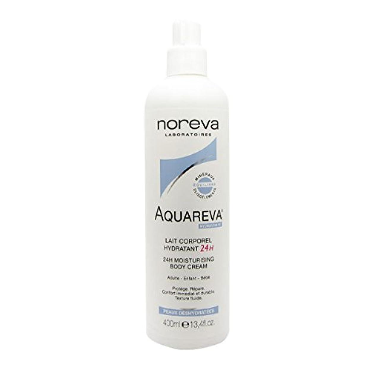 細胞スポット反毒Noreva Aquareva Hydrating Body Milk 400ml [並行輸入品]