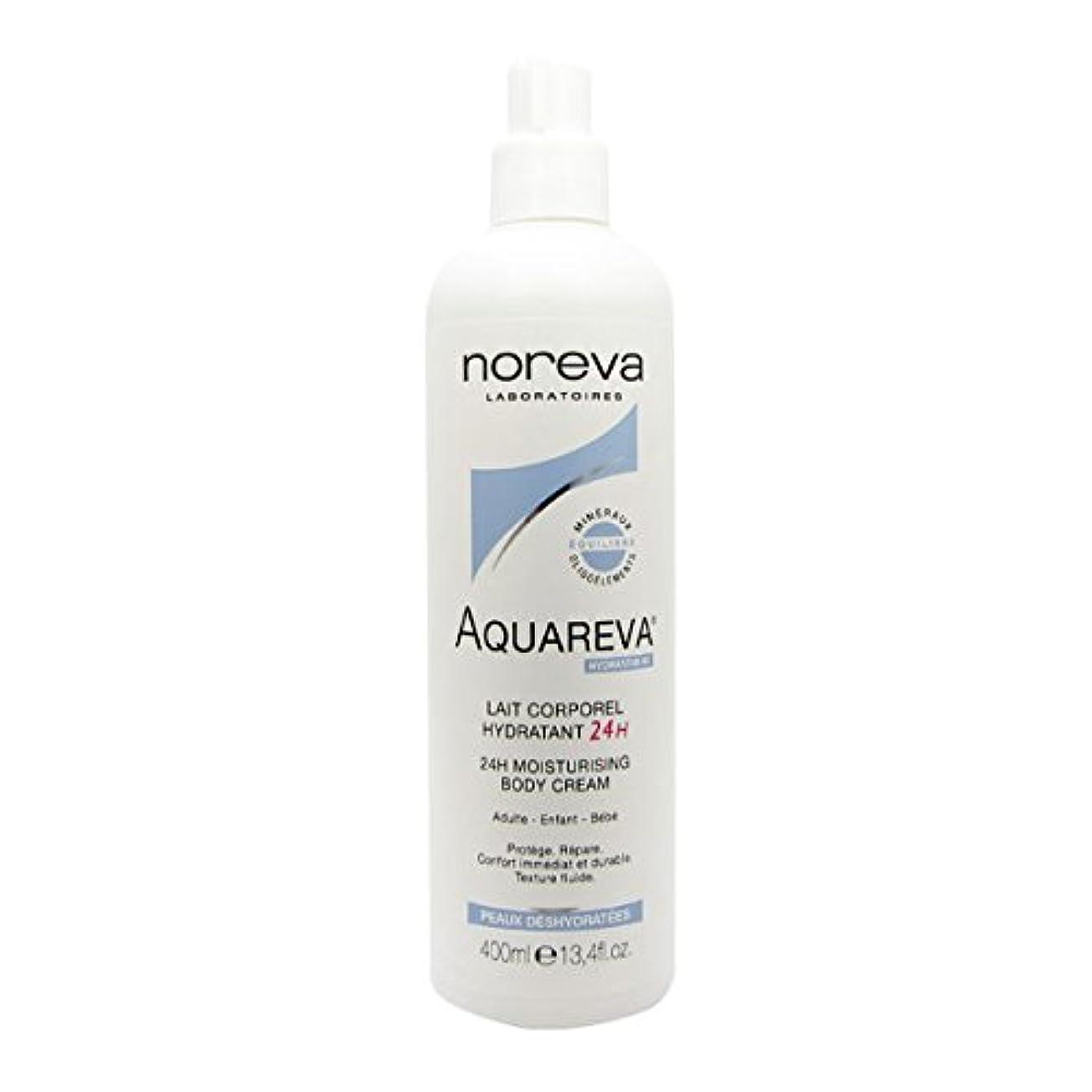 生き返らせる満たす送ったNoreva Aquareva Hydrating Body Milk 400ml [並行輸入品]