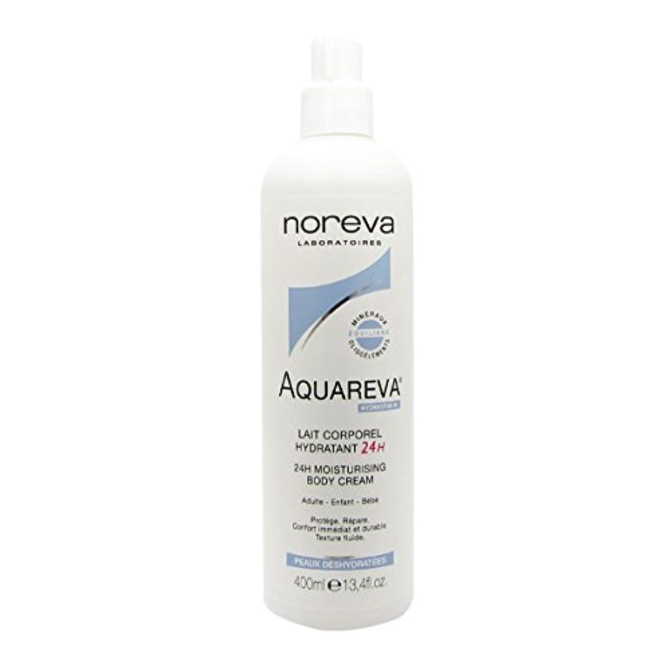 こだわり審判識別するNoreva Aquareva Hydrating Body Milk 400ml [並行輸入品]