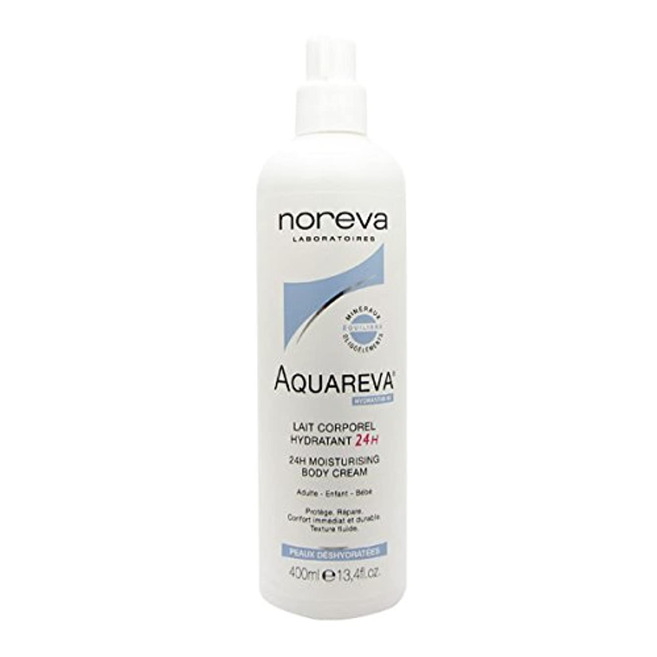 一掃するおキャラバンNoreva Aquareva Hydrating Body Milk 400ml [並行輸入品]