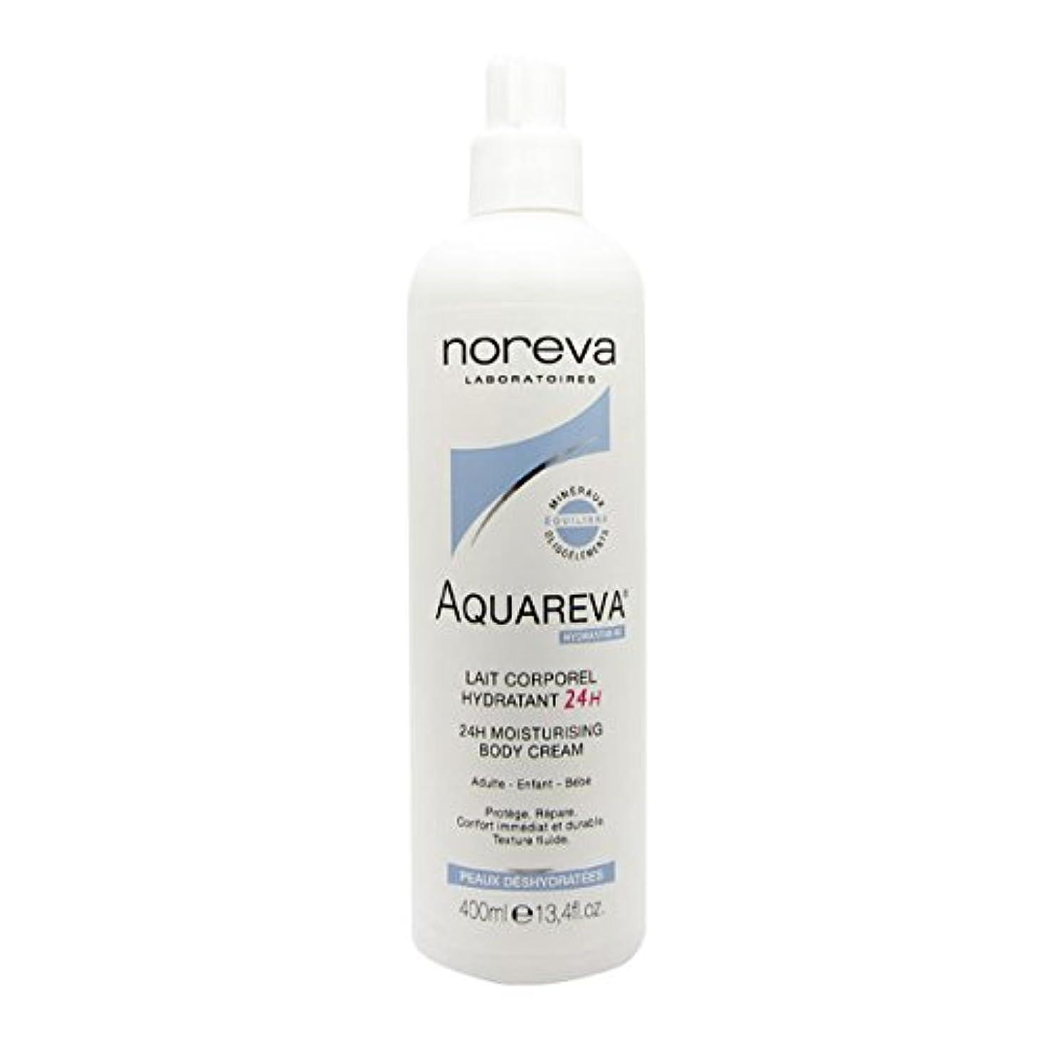 意気込み必要とする資料Noreva Aquareva Hydrating Body Milk 400ml [並行輸入品]