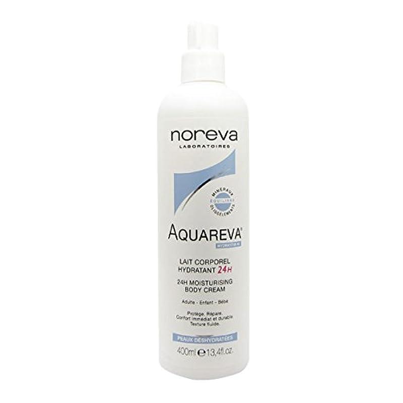 ラベル城奇跡的なNoreva Aquareva Hydrating Body Milk 400ml [並行輸入品]