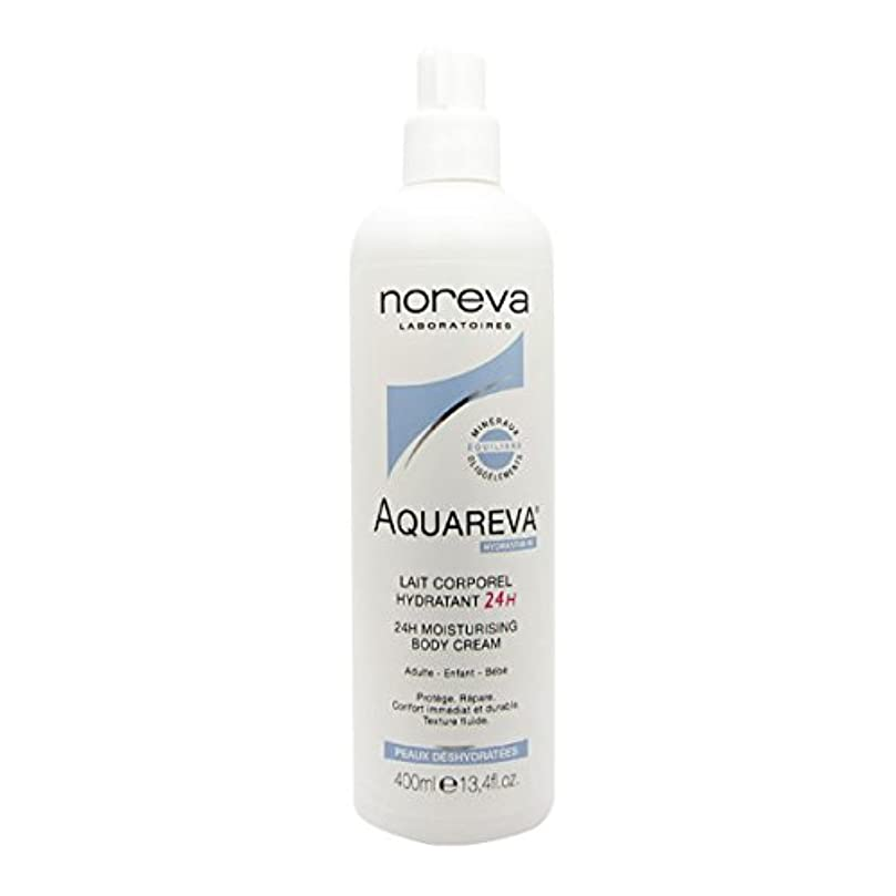 権限輝度ラッカスNoreva Aquareva Hydrating Body Milk 400ml [並行輸入品]