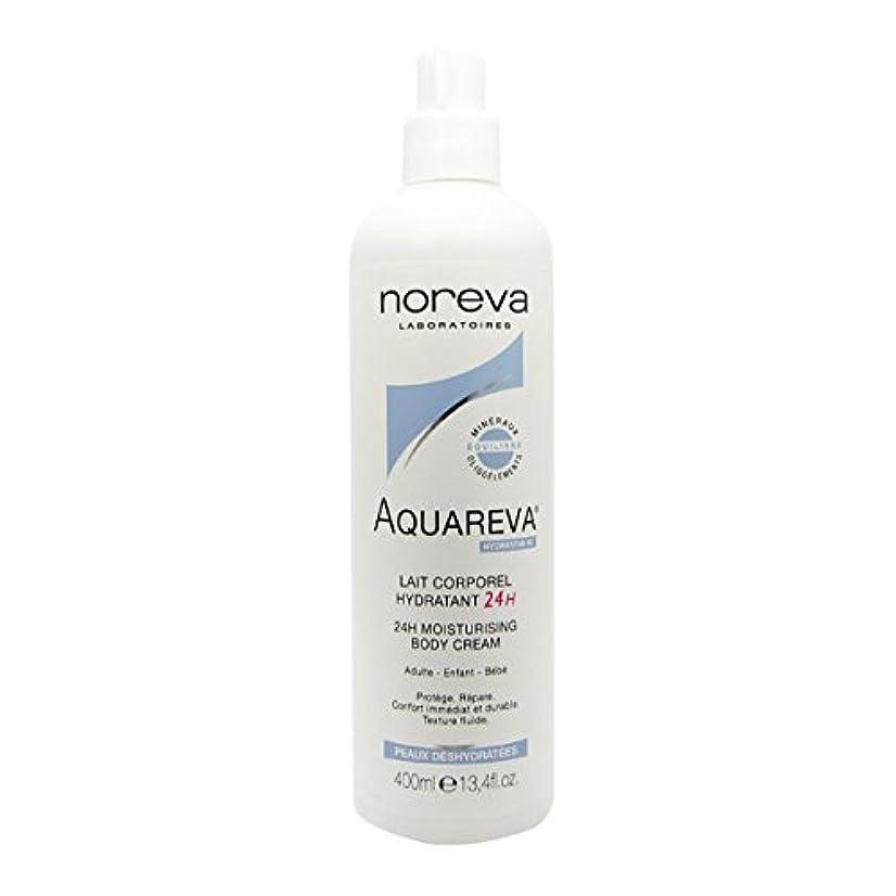 万歳休戦フェリーNoreva Aquareva Hydrating Body Milk 400ml [並行輸入品]