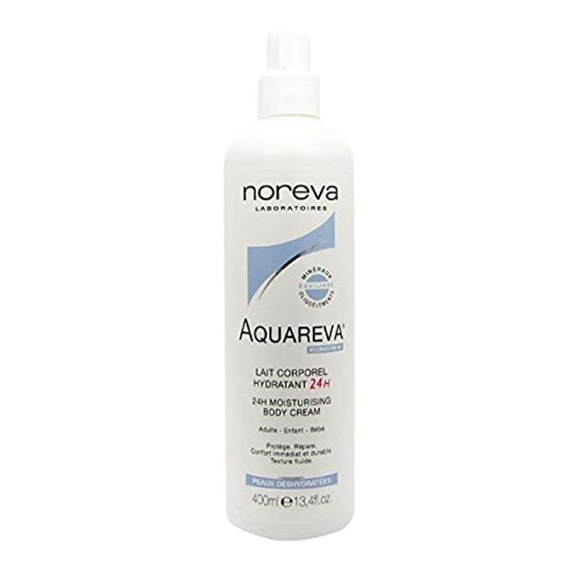 香水委任作業Noreva Aquareva Hydrating Body Milk 400ml [並行輸入品]
