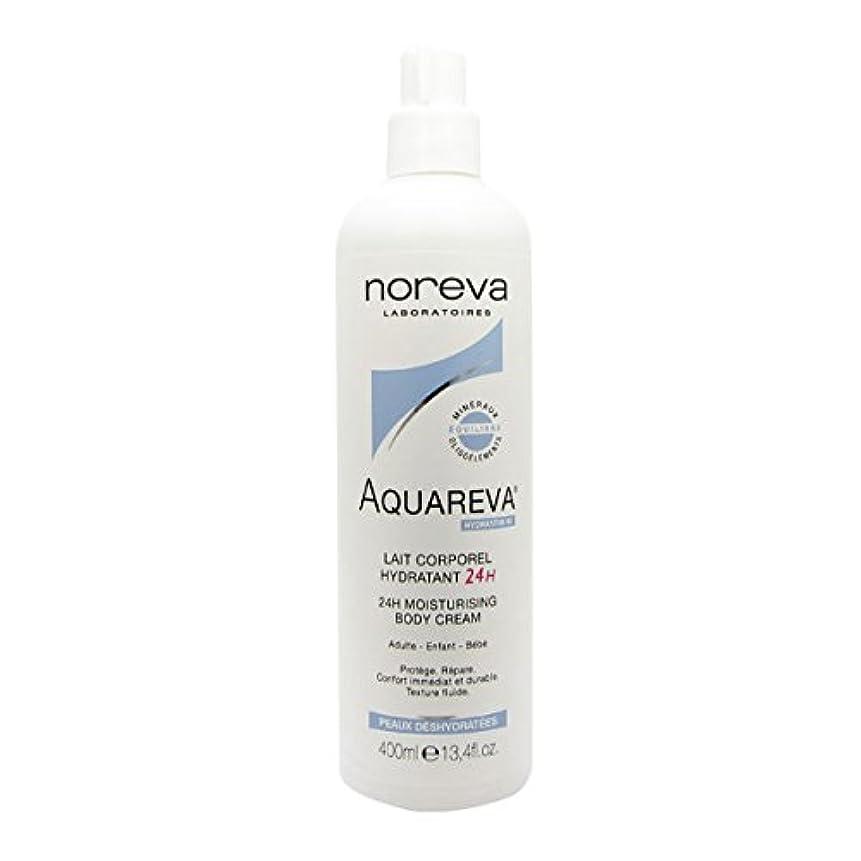 リングバック爆発する抵当Noreva Aquareva Hydrating Body Milk 400ml [並行輸入品]
