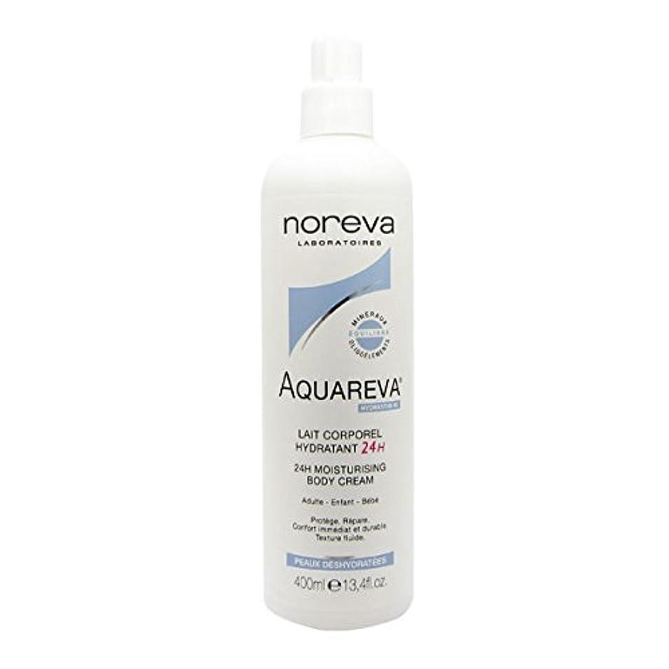 に向かって専門化する起訴するNoreva Aquareva Hydrating Body Milk 400ml [並行輸入品]