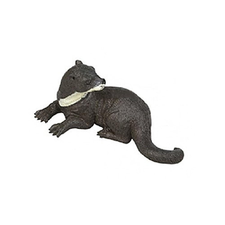 AAA 13826L Otter Looking Left Toy Wild Animal Model