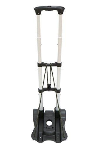 K'Z 折りたたみ 軽量 キャリーカート 耐荷重 50Kg 固定ロープ 付き スーパーワイド (00...