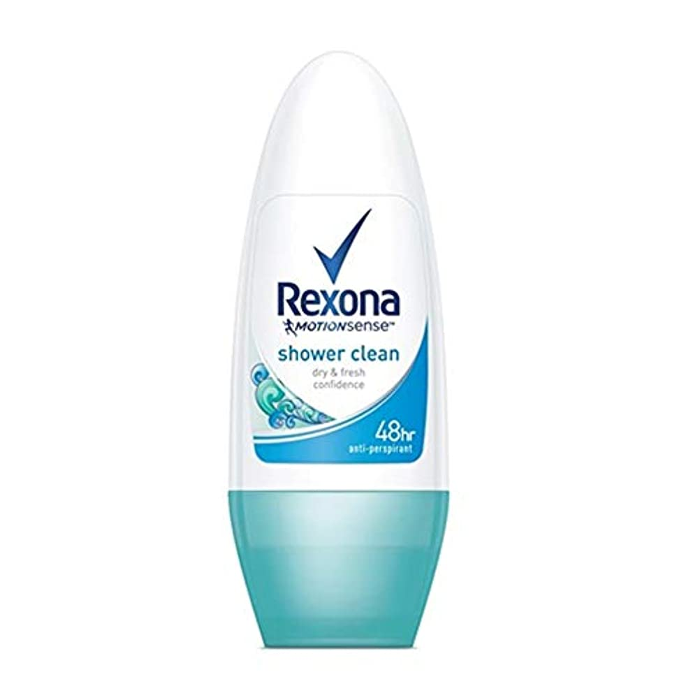 Rexona レクソーナ ロールオン デオドラント 50ml【並行輸入品】オリジナルポーチ付き (shower clean)