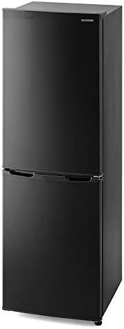 アイリスオーヤマ 冷蔵庫 162L 静音 省エネ ノンフロン 冷凍冷蔵庫 ブラック IRSE-16A-B