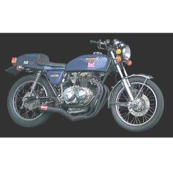 ヨシムラ(YOSHIMURA) バイクマフラー フルエキゾースト 機械曲 ストレート サイクロン B スチールカバー CB400FOUR(74-76) 110-441-4640 バイク オートバイ