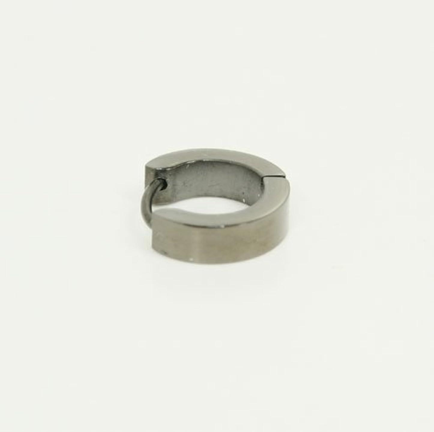 想像する圧倒的切り離す金属アレルギーの方も安心 サージカルスチール 日本製 メンズユニセックスデザインピアス (1個) #YZU012#MN400-05
