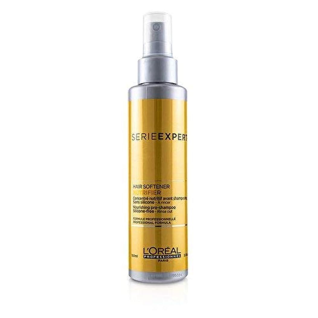 可動式ウイルス志すロレアル Professionnel Serie Expert - Nutrifier Hair Softener Nourishing Silcone-Free Pre-Shampoo 150ml/5.1oz並行輸入品