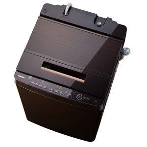 東芝 10.0kg 全自動洗濯機 グレインブラウンTOSHIBA ZABOON AW-10SD6-T