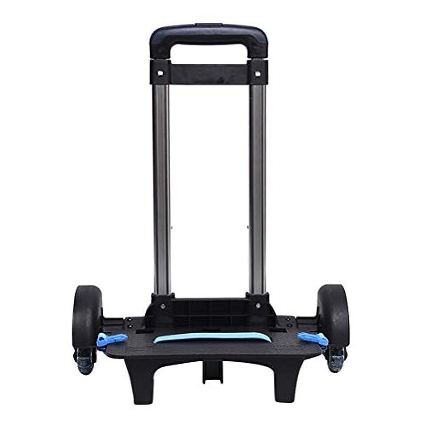 ラベンダーまだインレイ学校のバックパックのためのbesbomigトロリー38 x 25 x 84cm - バックパック容量のためのトロリー容量50 Kg 6つの車輪との抵抗力がある