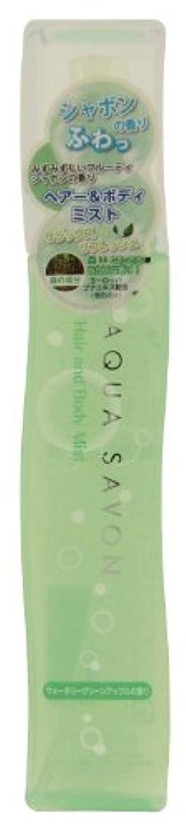 生産的区別する絶望アクアシャボン ヘアー&ボディミスト 13 S  ウォータリーグリーンアップルの香り 150mL