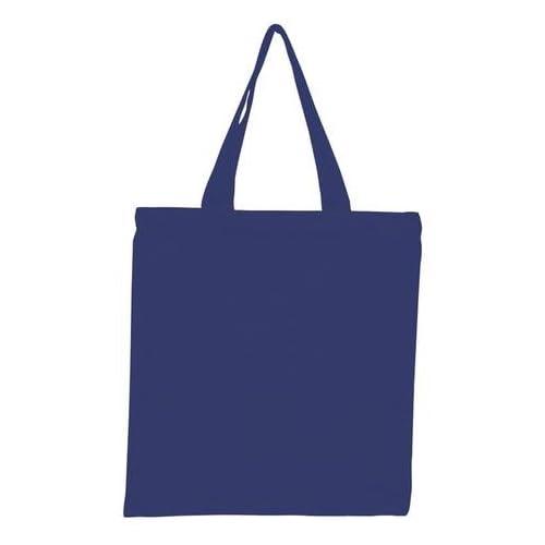 "Set of 12 ? 環境に優しいPromotional 100 %コットン再利用可能な卸売食料品ショッピング、Swag、アート、クラフト、ビーチ、旅行、通学、ブックバッグ、おむつバッグcarry-all空白トートバッグ15 "" W x 16 "" H ブルー"