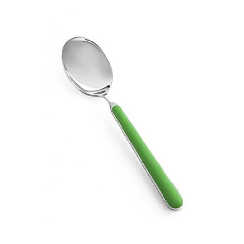 Fantasia テーブルスプーン (アップルグリーン) / イタリア製 19.7cm ステンレス プレゼント 贈り物