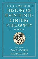 The Cambridge History of Seventeenth-Century Philosophy 2 Volume Paperback Set