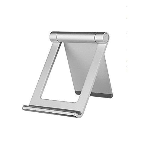 携帯電話スタンドタブレットホルダー 滑り止め 360°調節可能 Kindleおよびタブレットコンピュータ用10.1インチ以下 アルミ合金98 75 10 mm