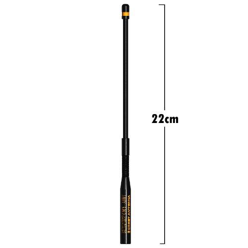 「限定販売」 CMY-AIR1  VHF/UHFエアーバンド受信専用アンテナ (ミドルサイズ)(SMAコネクタ)(スプリング機構)