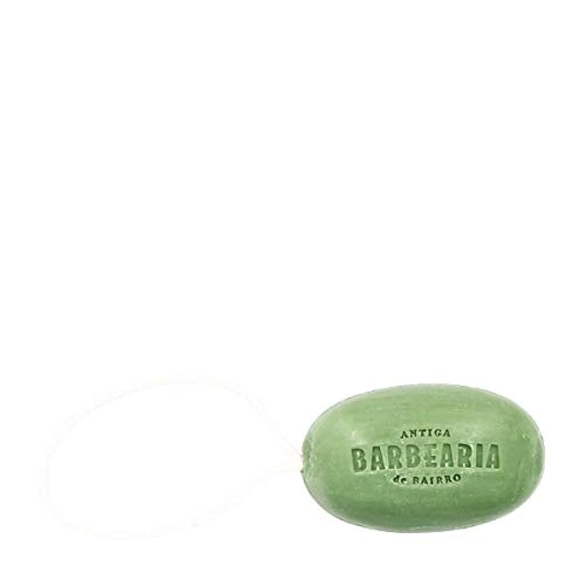 受け入れ表面忠誠アンティガ?バーベリア(Antiga Barbearia de Bairro)プリンシペソープロープ350g[海外直送品] [並行輸入品]