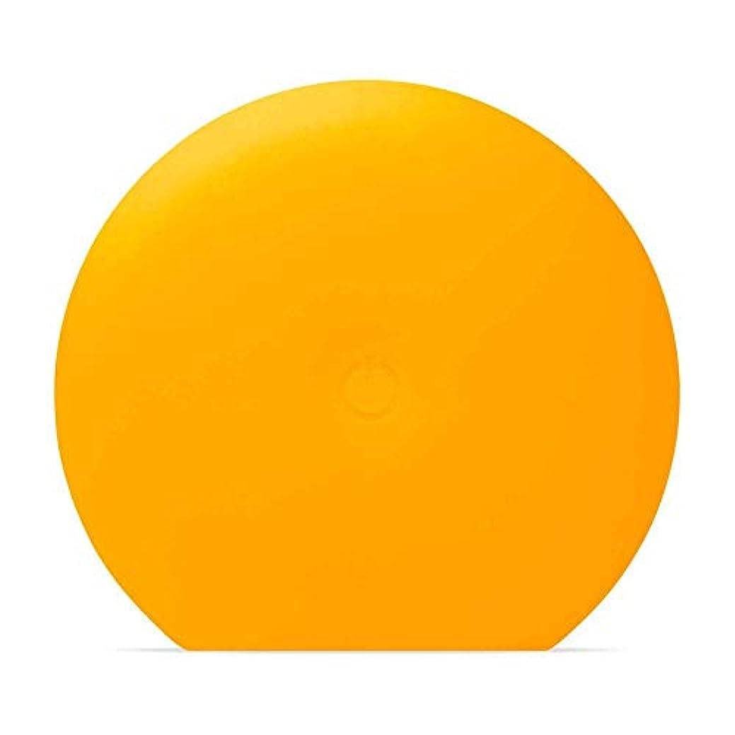 増幅するうなり声風変わりなFOREO LUNA Play Plus サンフラワーイエロー シリコーン製 音波振動 電動洗顔ブラシ 電池式