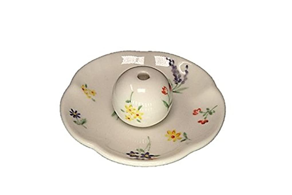 フロント表現独立したブーケ 花形香皿 お香立て お香たて 日本製 ACSWEBSHOPオリジナル