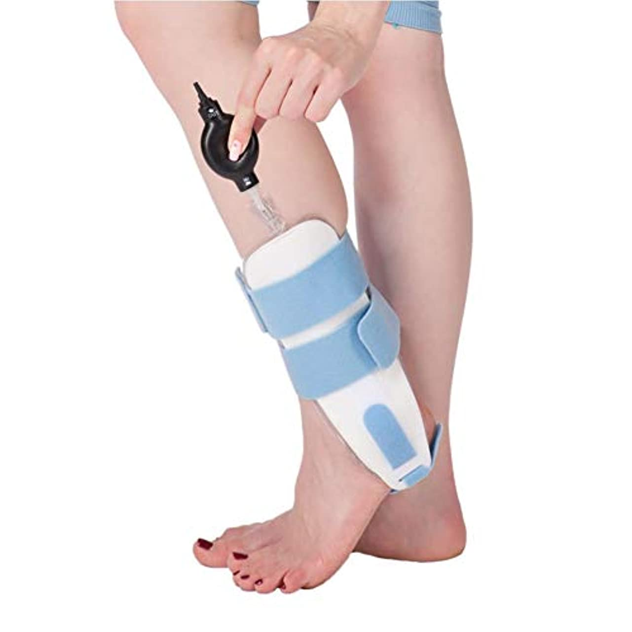 フレキシブル同種のマイコン足首の装具の膨脹可能な足首の保護装置は石膏の足の捻rainの固定副木を取り替えることができます
