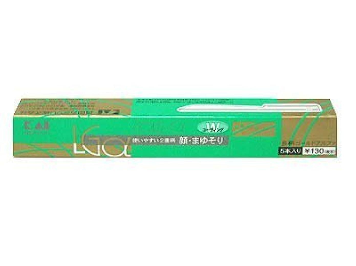 北西練るパケット長柄カミソリ ゴールドアルファー LGα-5H1 ×6個セット
