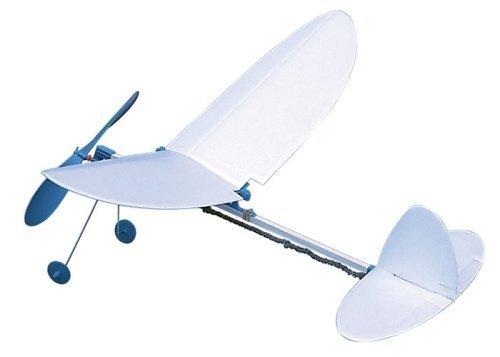 スタジオミド ゴム動力飛行機 丸翼 ゴム動力模型飛行機キット TA-06