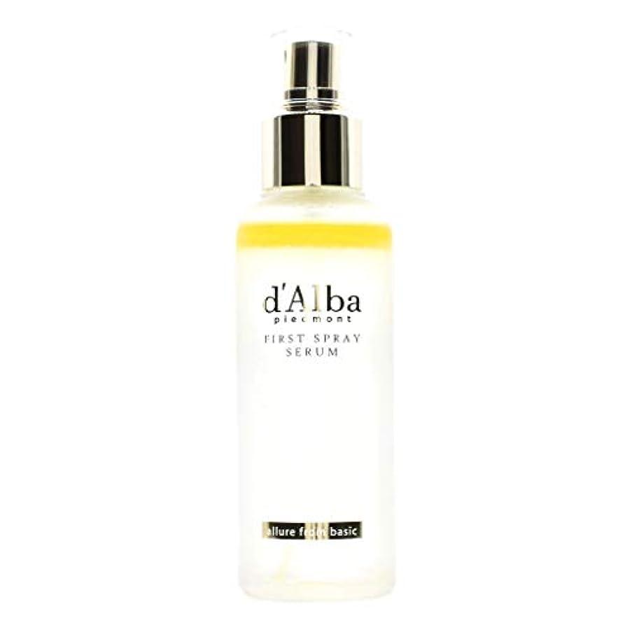 安いですクレーター広くd'Alba (ダルバ) ホワイトトリュフ ミストセラム 100ml (並行輸入品)First Spray Serum
