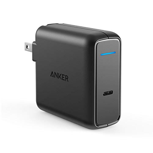Anker PowerPort Speed 1 PD 60 (60W USB-C 急速充電器)【PSE認証済 / 折りたたみ式プラグ / Power Delivery対応】iPhone, iPad Pro(11インチ、2018) , MacBook, Galaxy S9 / S9+, Xperia XZ1 その他USB-C機器対応