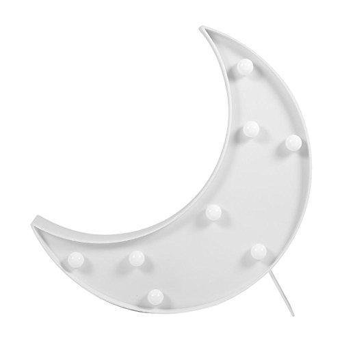 LED ベッドサイトランプ イルミネーションライト ホームイベント インテリア ギフト ホワイト月