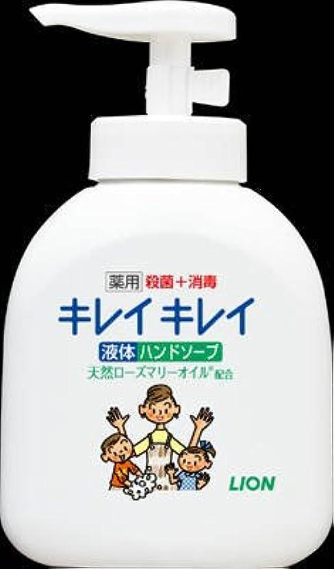 彼らのもの盲目アカデミーライオン キレイキレイ 薬用液体ハンドソープ 250ml 手に香りが残りにくいシトラスフルーティの香り 医薬部外品×24点セット (4903301176817)