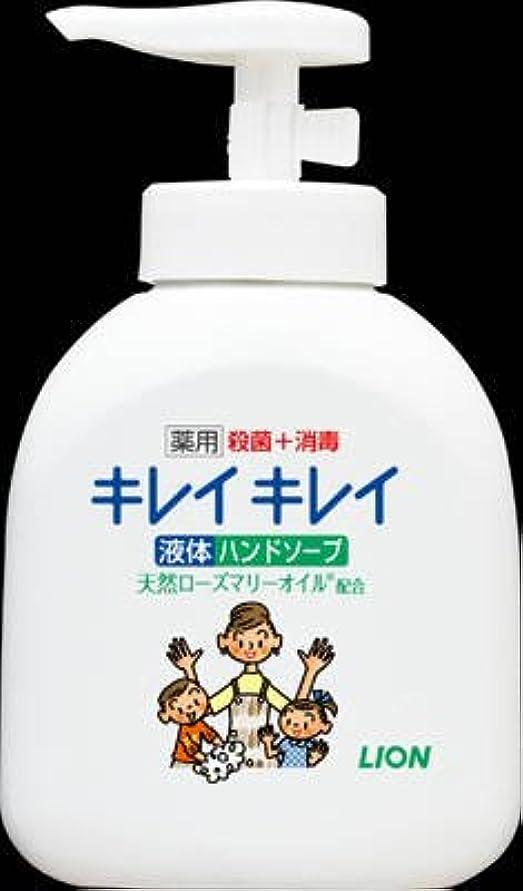 くるみ悪魔まあライオン キレイキレイ 薬用液体ハンドソープ 250ml 手に香りが残りにくいシトラスフルーティの香り 医薬部外品×24点セット (4903301176817)