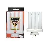 パナソニック ケース販売 10個セット コンパクト形蛍光灯 13W 3波長形電球色 ツイン蛍光灯 ツイン2パラレル(4本平面ブリッジ) FML13EX-L_set